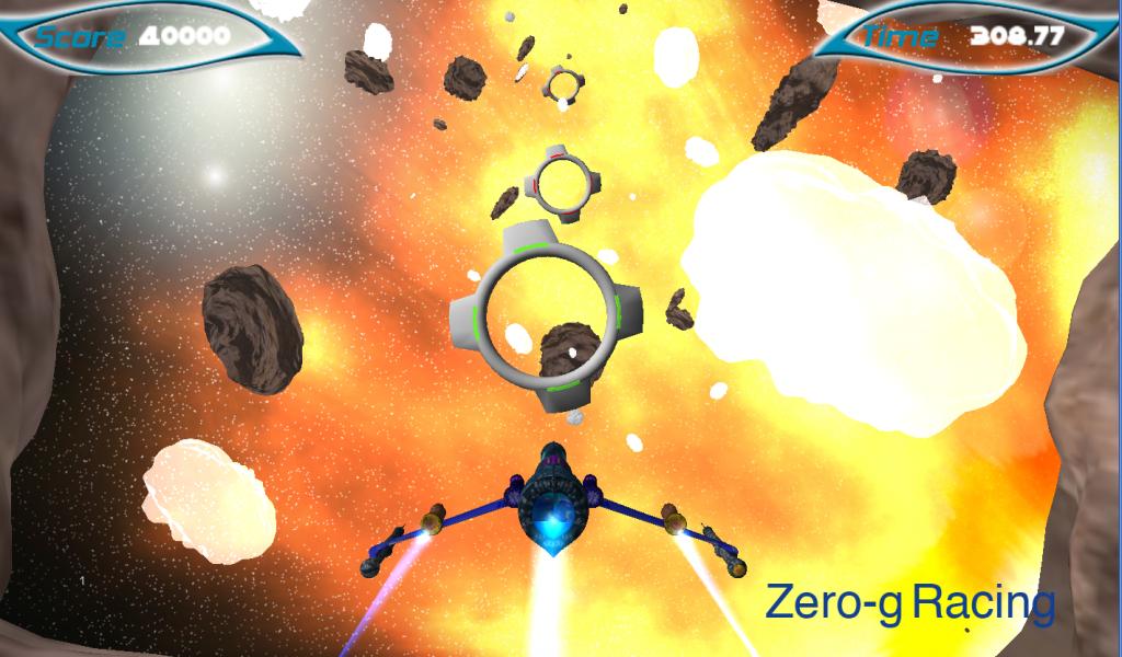 Zero-g Racing game